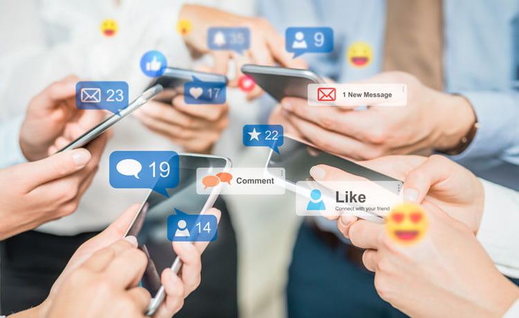 Reklama a správa sociálnych sietí