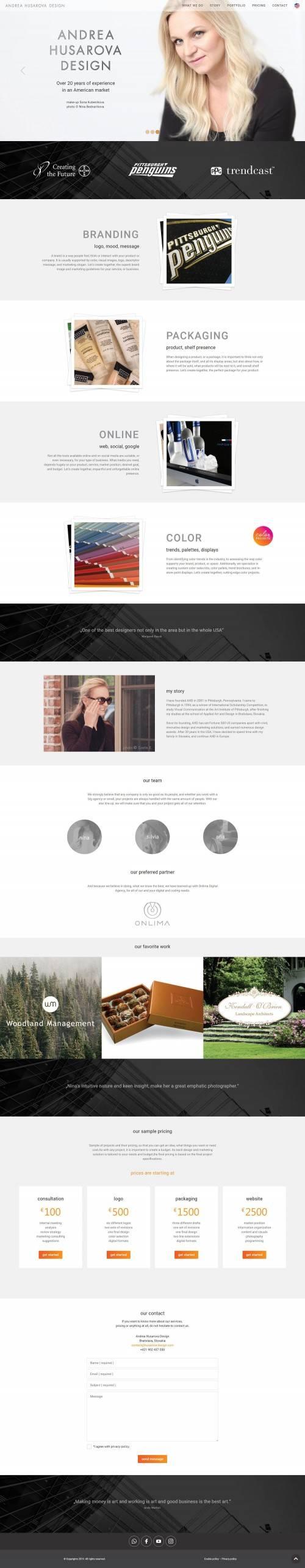 Andrea Husarova Design