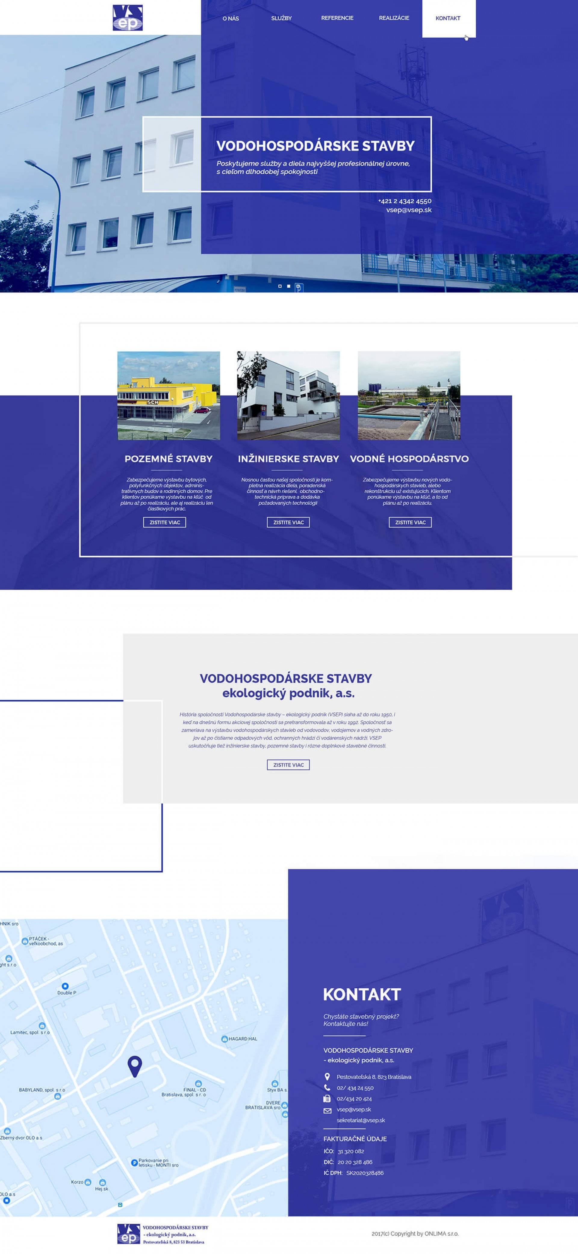 Vodohospodárske stavby - ekologický podnik